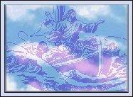 Jesus on boat Image